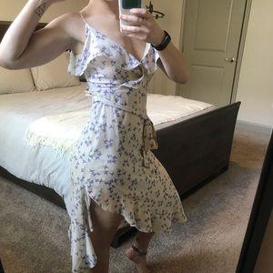 Lulu's floral midi dress